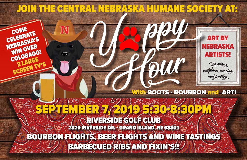 Yappy Hour Sept. 7, 2019   Tickets $50